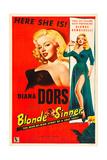 YIELD TO THE NIGHT  (aka BLONDE SINNER)  Diana Dors  1956