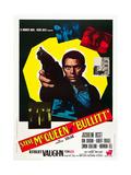 BULLITT  Steve McQueen on Italian poster art  1968