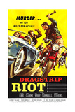 DRAGSTRIP RIOT  poster art  1958