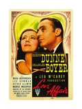 LOVE AFFAIR  from left: Irene Dunne  Charles Boyer  1939