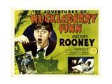 THE ADVENTURES OF HUCKLEBERRY FINN  left:  Mickey Rooney  1939
