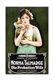 THE PROBATION WIFE  Norma Talmadge  1919