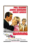 WINNING  from left: Paul Newman  Joanne Woodward  Robert Wagner  1969