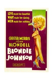 BLONDIE JOHNSON  Joan Blondell  1933