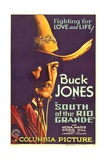 SOUTH OF THE RIO GRANDE  Buck Jones  1932