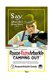 CAMPING OUT  Roscoe 'Fatty' Arbuckle  1919