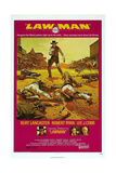 LAWMAN  US poster  Burt Lancaster  bottom from left: Burt Lancaster  Robert Ryan  Lee J Cobb  1971