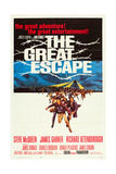 THE GREAT ESCAPE  1963 Poster Art