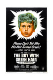 THE BOY WITH GREEN HAIR  US poster  Dean Stockwell  1948