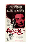 MILDRED PIERCE  US poser art  Zachary Scott  Jack Carson  Joan Crawford  1945