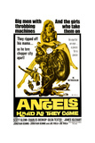 ANGELS HARD AS THEY COME  (poster art)  1971