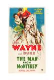 THE MAN FROM MONTEREY  Ruth Hall  John Wayne  1933