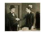 YELLOW STAIN  right: John Gilbert  1922