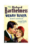 WEARY RIVER  from left: Richard Barthelmess  Betty Compson  1929