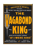 THE VAGABOND KING  window card  1930