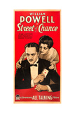 STREET OF CHANCE  US poster art  from left: William Powell  Kay Francis  1930
