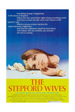 THE STEPFORD WIVES  Katharine Ross on poster art  1975