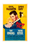 PILLOW TALK  US poster  from left: Doris Day  Rock Hudson  1959