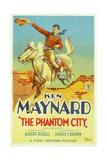 THE PHANTOM CITY  Ken Maynard  1928