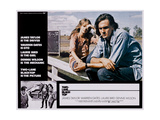 TWO-LANE BLACKTOP  (from left  large inset)  Laurie Bird  James Taylor  1971