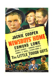 NEWSBOYS' HOME  US poster art  top from left: Jackie Cooper  Wendy Barrie  Edmund Lowe  1938