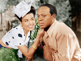 CABIN IN THE SKY  from left: Lena Horne  Eddie 'Rochester' Anderson  1943