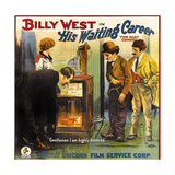 HIS WAITING CAREER  second from right: Billy West  1916