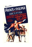 THE PRINCE AND THE PAUPER  center: Errol Flynn  1937