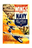 WINGS OF THE NAVY  US poster  top from left: John Payne  George Brent  Olivia DeHavilland  1939