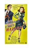 HAZARD  US poster  from left: Macdonald Carey  Paulette Goddard  1948