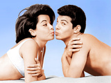 BEACH PARTY  from left: Annette Funicello  Frankie Avalon  1963