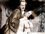 THE PIT AND THE PENDULUM  from left: Vincent Price  Barbara Steele  1961