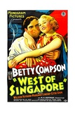WEST OF SINGAPORE  right: Betty Compson  1933