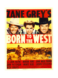 BORN TO THE WEST [aka HELL TOWN]  John Wayne  Marsha Hunt  Johnny Mack Brown  1937