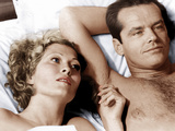 CHINATOWN  from left  Faye Dunaway  Jack Nicholson  1974