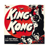 KING KONG  jumbo window card  1933
