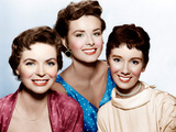 THREE COINS IN THE FOUNTAIN  from left: Dorothy McGuire  Jean Peters  Maggie McNamara  1954