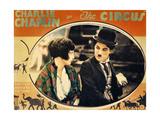 THE CIRCUS  Merna Kennedy  Charlie Chaplin  poster art   1928