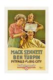 PITFALLS OF A BIG CITY  Dot Farley  James Finlayson  Ben Turpin  1923