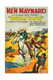 DRUM TAPS  left: Ken Maynard  Tarzan the Wonder Horse on poster art  1933