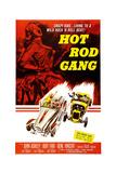HOT ROD GANG  poster art  1958