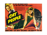 Cat People  Jane Randolph  Kent Smith  Simone Simon  1942