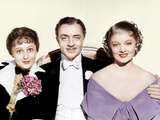 THE GREAT ZIEGFELD  from left: Luise Rainer  William Powell  Myrna Loy  1936