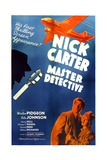 NICK CARTER  MASTER DETECTIVE  US poster art  from left: Walter Pidgeon  Rita Johnson  1939