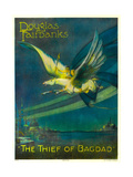 THE THIEF OF BAGDAD  Douglas Fairbanks on a flying horse  1924