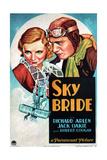 SKY BRIDE  US poster art  from left: Virginia Bruce  Richard Arlen  1932