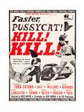 FASTER  PUSSYCAT! KILL! KILL!  Paul Trinka  Tura Satana  Lori Williams  Haji (top right)  1965