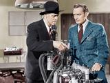 GREEN FOR DANGER  from left: Alastair Sim  Trevor Howard  1946