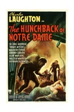 THE HUNCHBACK OF NOTRE DAME  1939  poster art