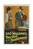 TWO-GUN OF THE TUMBLEWEED  left to right: Josephine Hill  Leo D Maloney  Peggy Montgomery  1927